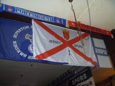Jersey Spurs Betting Club Flag